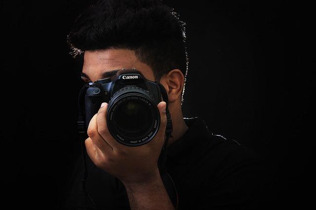 fotograf s Canonem
