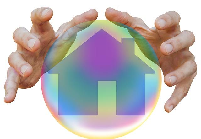 dům v ochranné bublině
