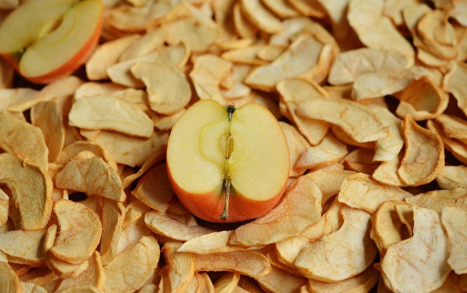 sušení jablek